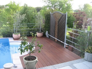 Pool Holz Outdoor